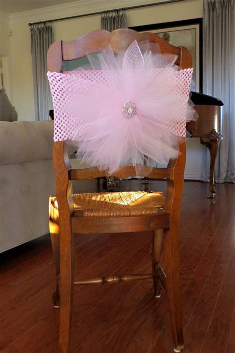 Baby Shower Chair Covers by Tulle Chair Cover Tutu Burst For Bridal By Sweetdreamstutus