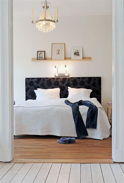 light shelf  bed scandinavian bedrooms
