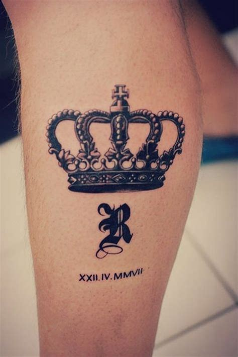 20 brilliant crown tattoos you ll need to see inkdoneright