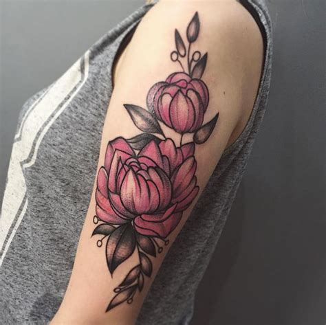 peony rose tattoo 60 gorgeous peony tattoos that are more beautiful than