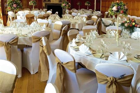 wedding tables and chairs cover wedding table centre package deans chair covers