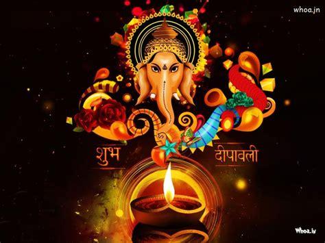god ganesh themes for windows 7 shubh deepawali with lord ganesha hd greetings wallpaper