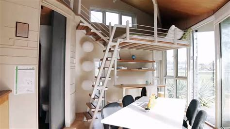 Modern Tiny Cabin and a Two Story Pop Up Tiny House!