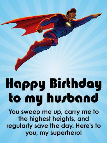 happy to my husband powerful happy birthday wishes card for husband birthday