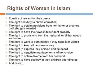 Womens Rights In Islam Essay by Rights Of In Islam Essay