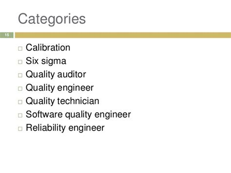 Certified Software Quality Engineer by Quality Awards And Certifications