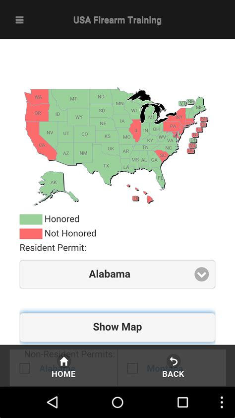 texas ccw reciprocity map the best app for concealed carry reciprocity maps concealed carry inc