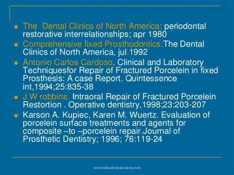 Cd E Book The Journal Of Prosthetic Dentistry post cementation certified fixed orthodontic courses by indian denta
