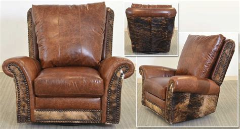 Hair On Hide Leather Chair Chairs Seating Hide Leather Sofa