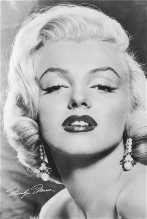 love black  white marilyn monroe poster popartuk