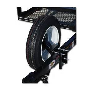 Trailer Tire Carrier Shop Carry On Trailer Spare Tire Wheel Carrier At Lowes