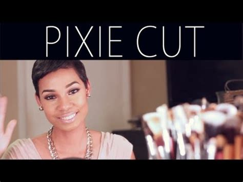 hair products for pixie cut pixie hair cut routine how to style products youtube