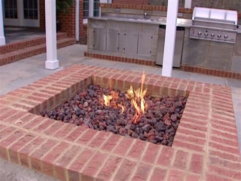 Diy Brick Firepit Pit Diy Ideas Diy