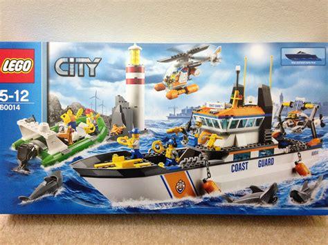lego boat myer brave new lego world day clxxviii 60014 coast guard