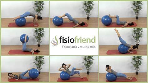 tutorial para trabajar con edmodo 8 ejercicios con pelota de fitball para trabajar el core