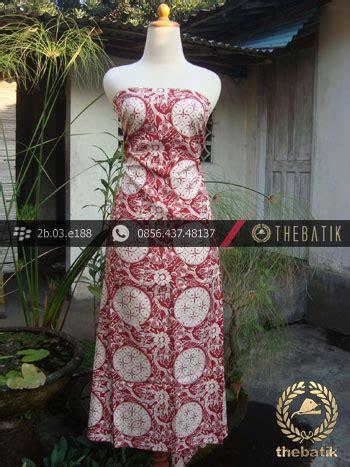 Kain Batik Kawung Merah jual kain batik sutera cap motif ceplok kembang kawung