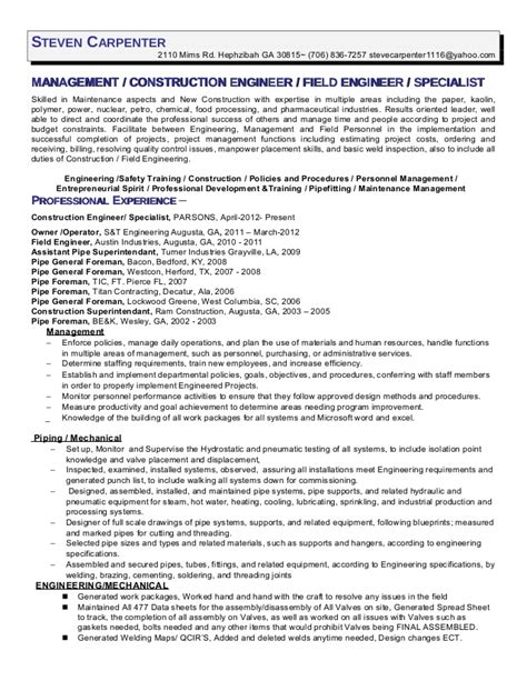 sle carpenter resume 28 carpentry resume skills carpenter resume exle