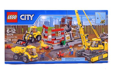 Demolition Site Lego 60076 City demolition site lego set 60076 1 nisb building sets