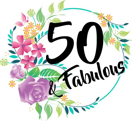Be Fabulous 50 50th birthday gift coaster affordable gift from