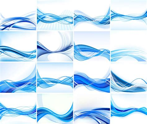 blue pattern background vector abstract blue design background vector set abstract