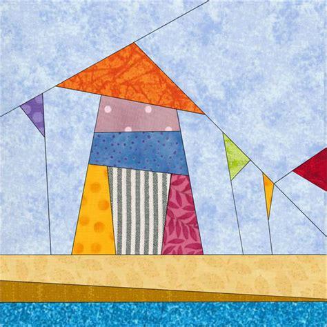 quilt pattern beach house wonky beach house block favequilts com