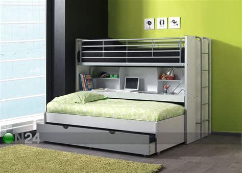 Lits Superposés Pin Massif by Bunk Bed For Three Kerross 228 Nky Kolmelle Bonny Aq 51773