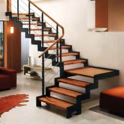 Quarter Turn Stairs Design Staircases Extravagant Metal Stringer Stairs With Wood Steps Second Floor Modern