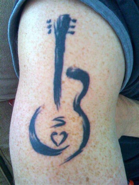 tattooed heart guitar cover guitar tattoo