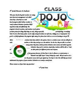 Parent Letter About Class class parent letter editable by martinez tpt