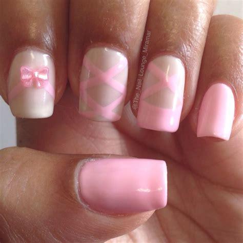 ballet slipper nail pin by jones on nails