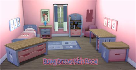 bedroom for 4 kids my sims 4 blog kid s bedroom recolors by jorghahaq