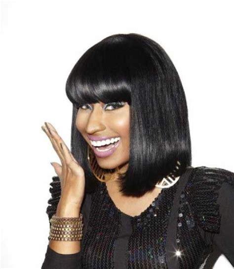 Nicki Minaj Hairstyles With Bangs 15 nicki minaj bob hairstyles bob hairstyles 2017