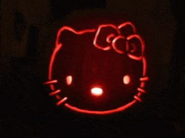 wallpaper hello kitty gif hello kitty pumpkin gifs find share on giphy