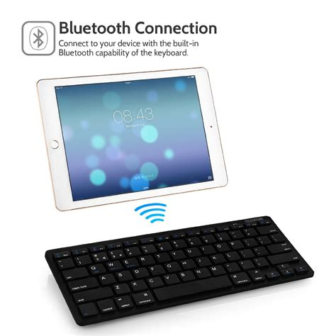 ios keyboard for android caseflex ultra slim wireless bluetooth keyboard for all