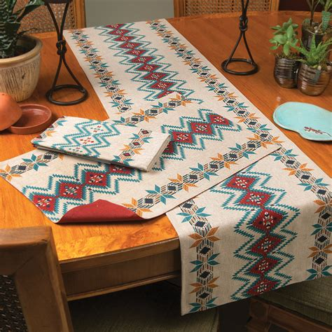 table linens bright skies southwest table linens