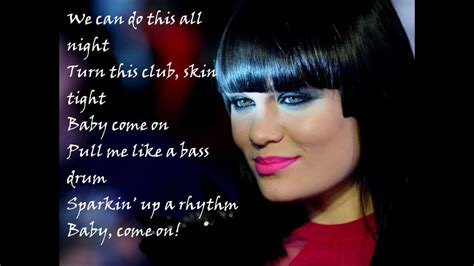 jessie j karaoke jessie j domino karaoke lyrics youtube