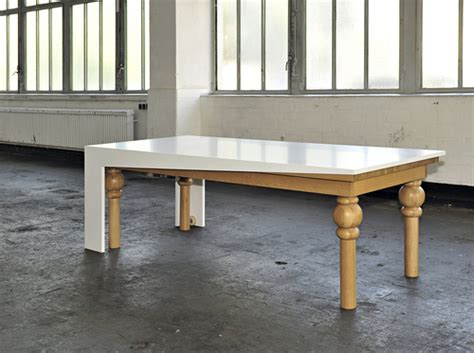modern dining table ultra modern dining table by kisskalt