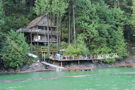 Bc Cottages For Sale by Cabin B 3022 Cozen Point Pitt Lake Waterfront Cabin