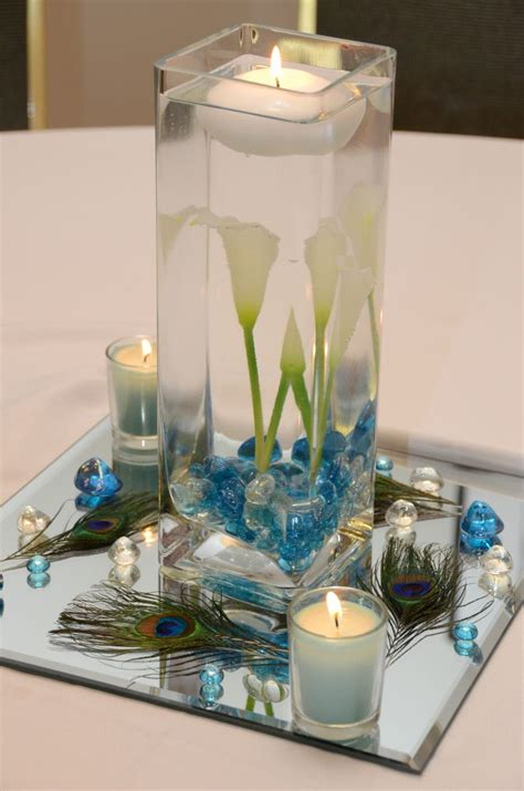 25 best feather wedding centerpieces ideas on