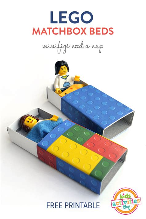 lego bed lego matchbox beds minifigs need a nap