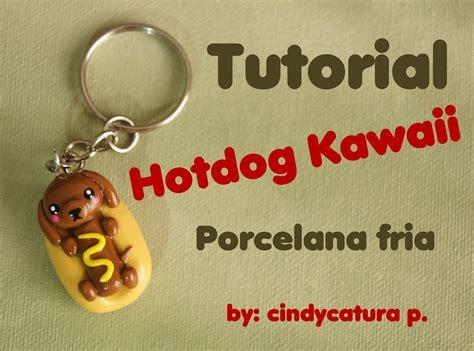imagenes de llaveros kawaii tutorial porcelana fria llavero hotdog kawaii cold