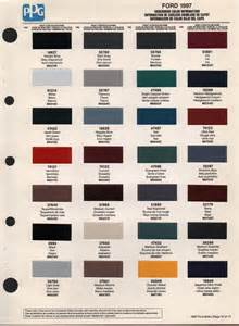 paint chips 1997 ford aerostar
