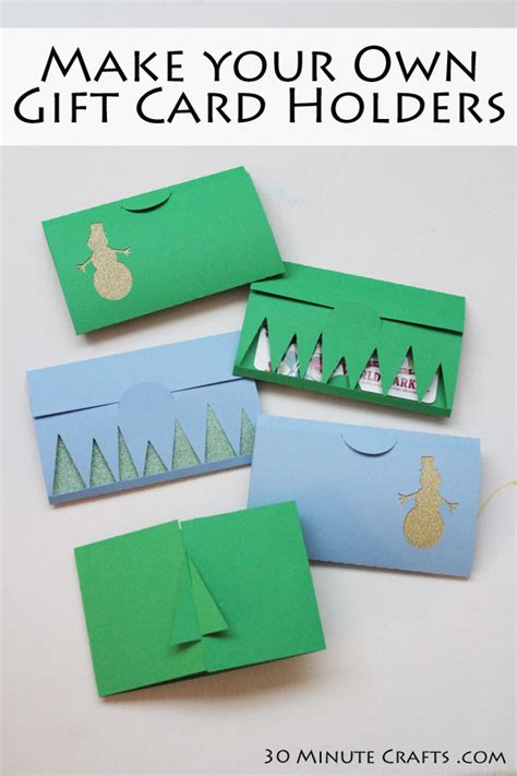 How To Make Gift Card Holders Out Of Paper - 15 diy gift card holders gun ramblings