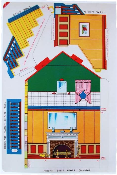 paper doll houses 1000 images about dolls and houses on pinterest stove