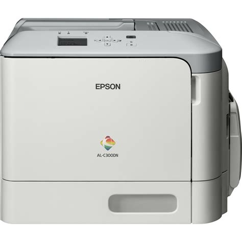 Printer Epson Laserjet Colour Epson Workforce Al C300dn A4 Colour Laser Printer C11ce10401by