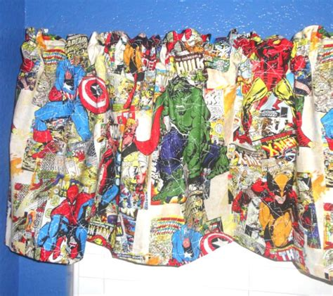 marvel comic curtains marvel comics the avengers iron man hulk thor captain