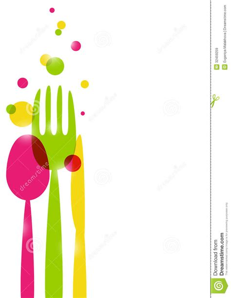 Kitchen Utensil Design by Menu Background Royalty Free Stock Images Image 32459259