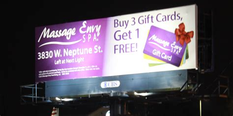 Gift Card Massage Envy - massage envy launches holiday gift card caign marketing in color