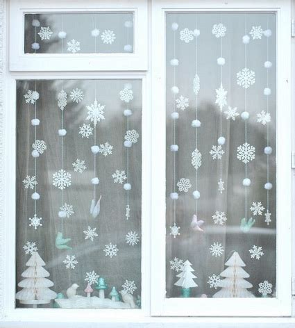 Fenster Weihnachtlich Gestalten by Decoraci 243 N Navide 241 A De Ventanas Decoraci 243 N De Interiores