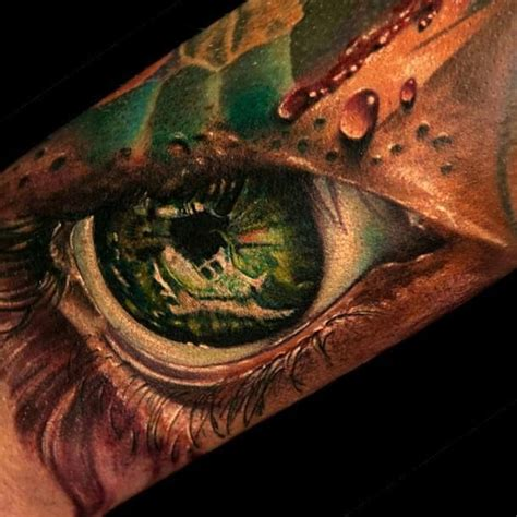 eye tattoo green realistic green eye tattoo by andy engel realistic eye